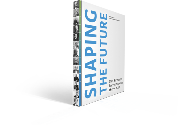 Shaping the future - book cover