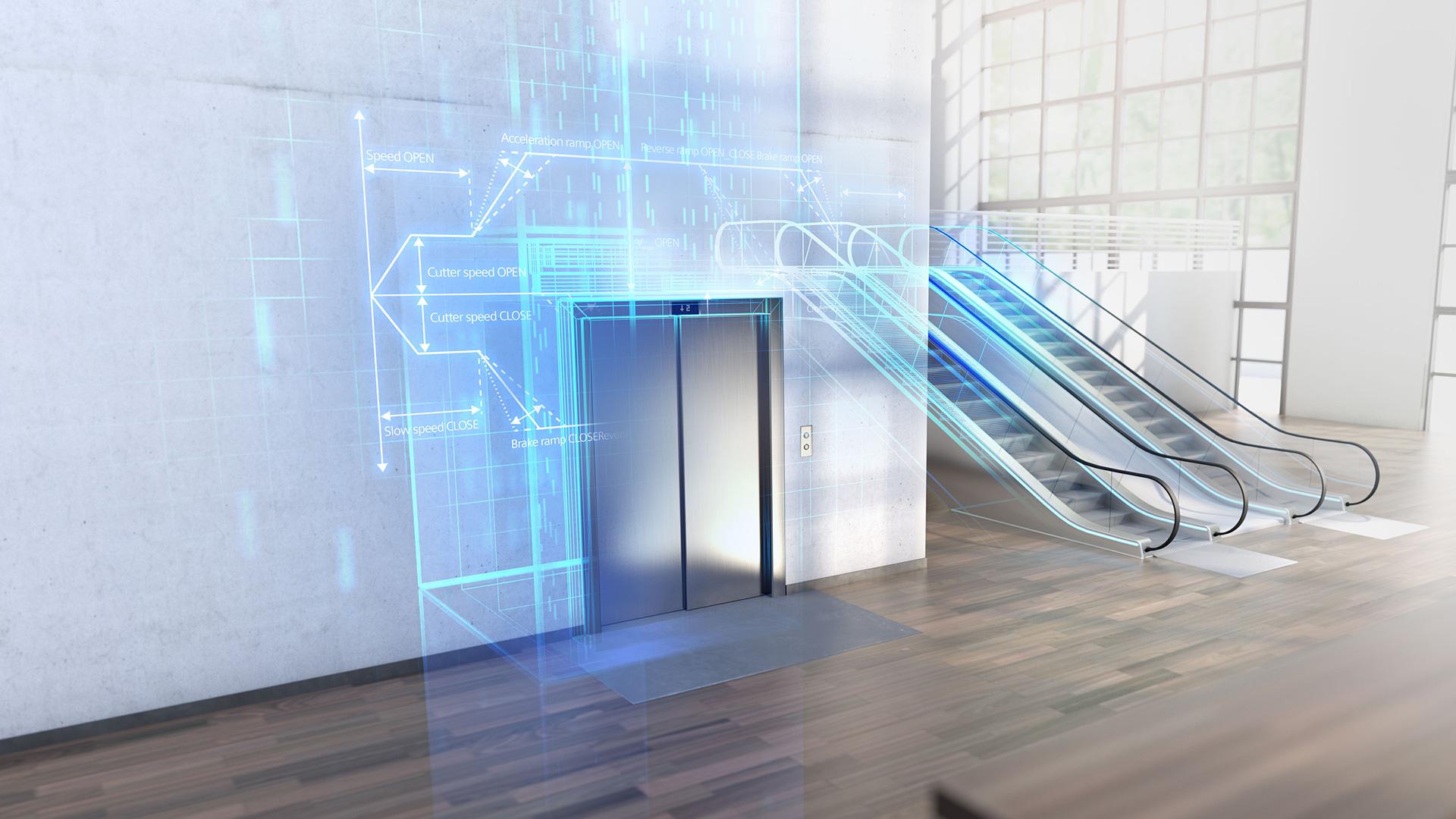 スマートエレベーター自動化システム