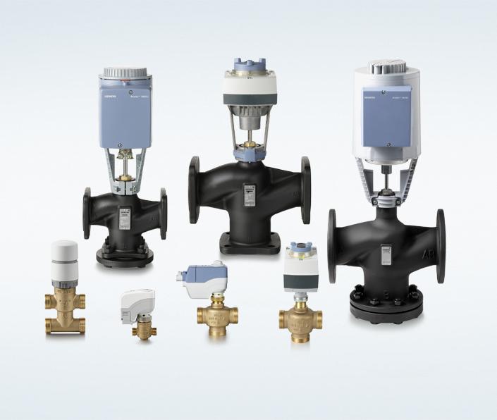 Acvatix Valves And Actuators Hvac Products Siemens