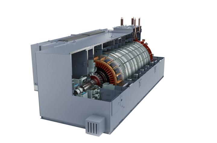 SGen-100A/SGen-1000A | Generator 25-370 MVA | Siemens Global