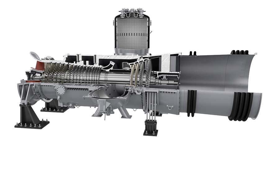 SGT5-2000E Heavy-duty gas turbine (50 Hz)   Gas turbines   Siemens