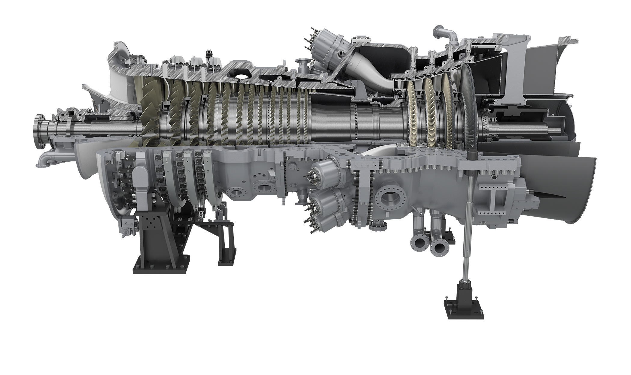 SGT6-5000F | F-class Gas Turbine | Siemens Global Website