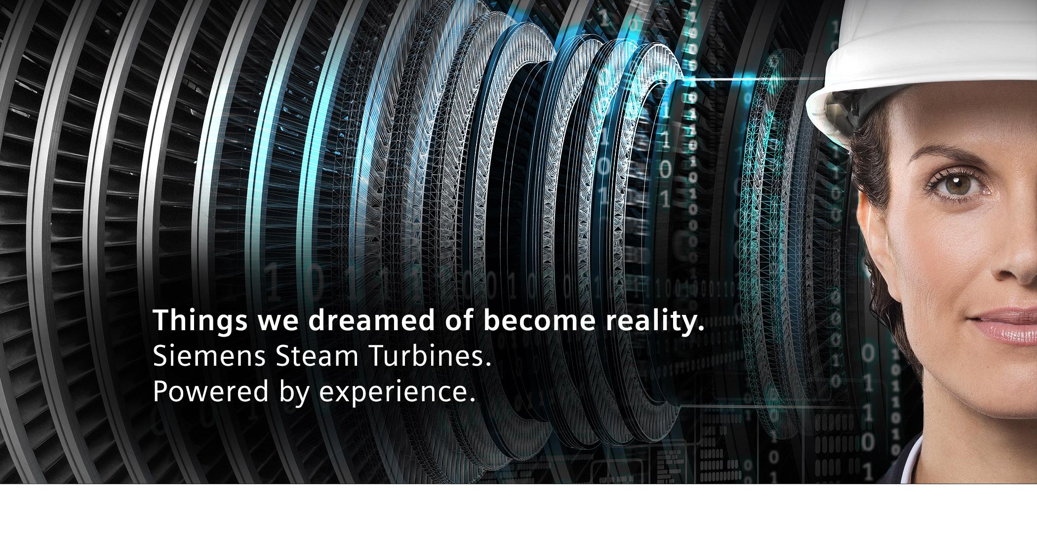 Steam turbines | Power Generation | Siemens